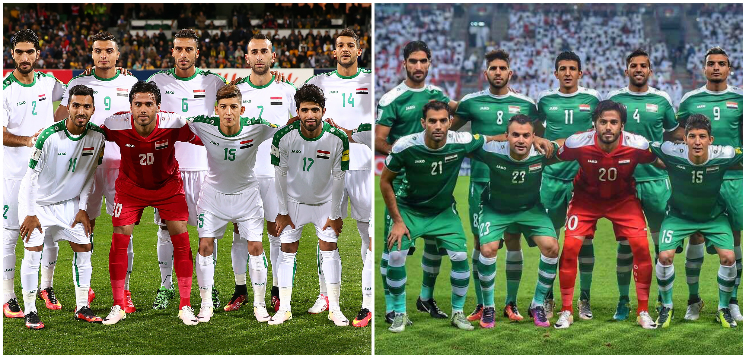 Iraq National Team Jako Shirts now available exclusively to Soccer Iraq! 61fcc7d1a
